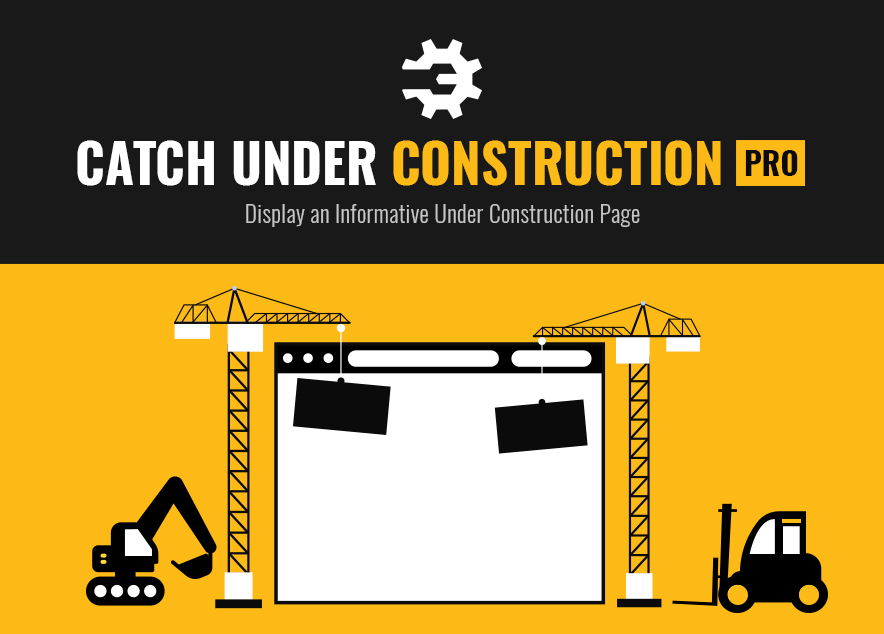 Catch Under Construction Pro is a premium WordPress maintenance mode plugin that helps you display informative under construction page in an elegant manner.