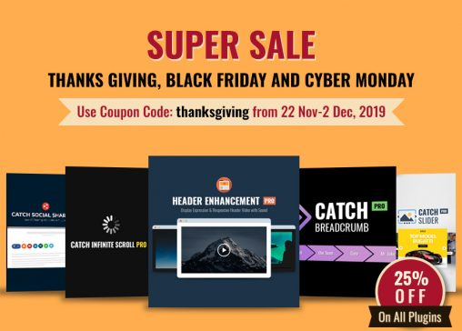 Happy Thanksgiving Black Friday and Cyber Monday 2019 - main-blog-page