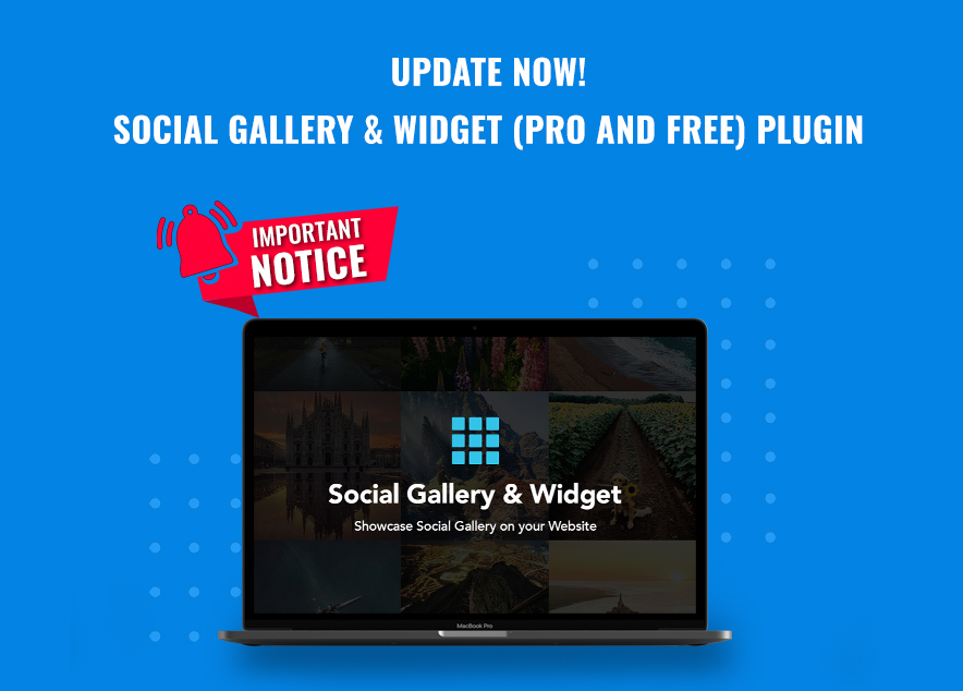Update Social Gallery and Widget Plugin