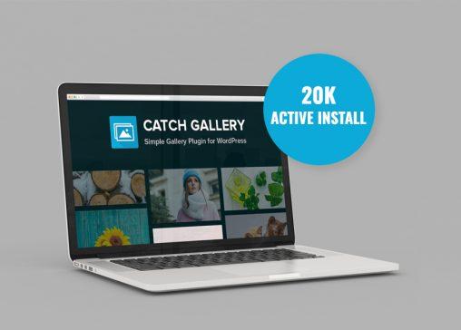 Catch Gallery, a free gallery wordpress plugin crosses 20K+ active installs