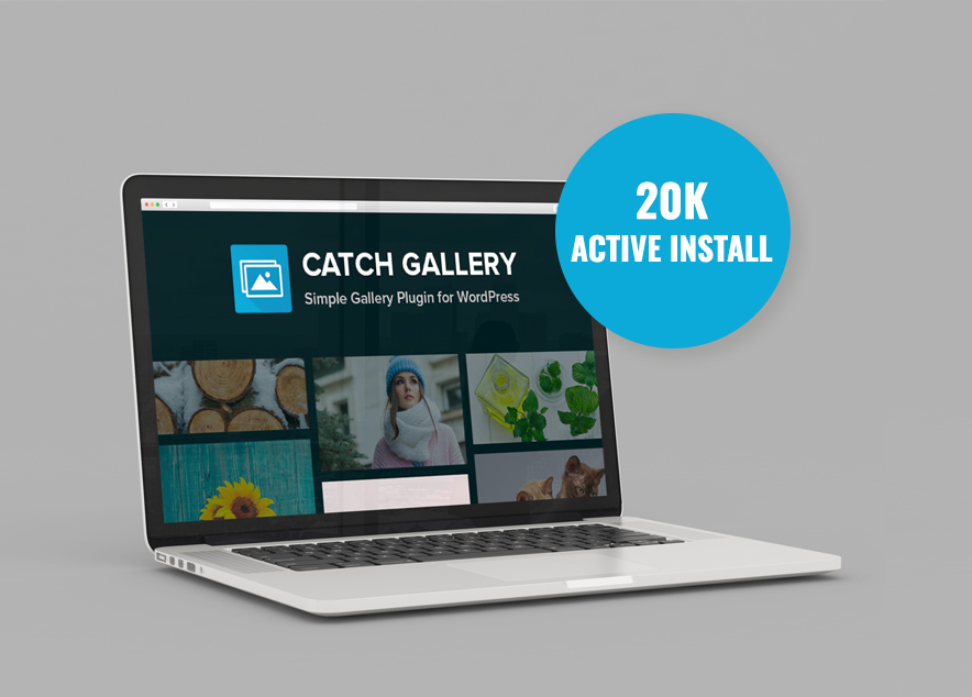Catch Gallery, a free gallery wordpress plugin crosses 20K+ active installs