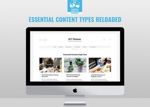 Essential content Types Pro Featured