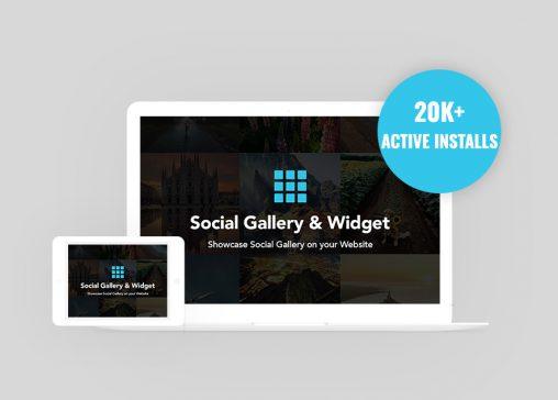 Social Gallery and Widget Plugin Hits 20K Active Installs