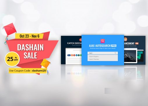 Happy Vijaya Dashami 2077 from Catch Plugins featured image