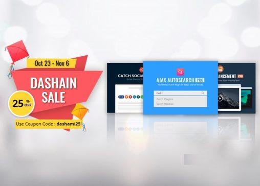 Happy Vijaya Dashami 2077 from Catch Plugins featured image