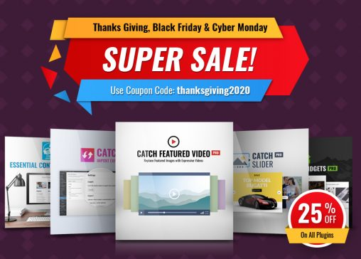Thanksgiving Offer and Deals for Black Friday and Cyber Monday 2020 main image