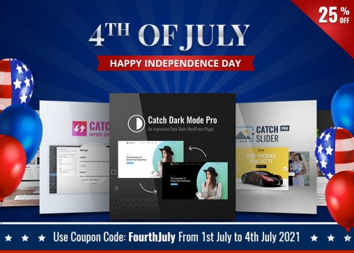 4th of July Discount Catch Plugins Blog